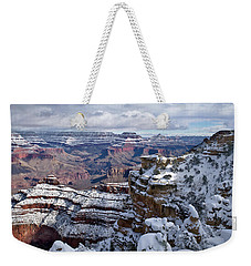 Winter Vista - Grand Canyon Weekender Tote Bag