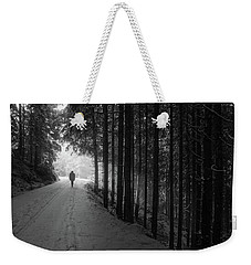 Winter Walk - Austria Weekender Tote Bag by Mountain Dreams