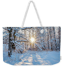 Winter Warm Spot Weekender Tote Bag