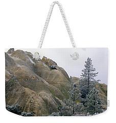 Winter Wind Weekender Tote Bag