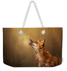 Weekender Tote Bag featuring the digital art Winter Wonder by Nicole Wilde