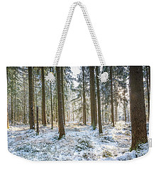 Weekender Tote Bag featuring the photograph Winter Wonderland by Hannes Cmarits