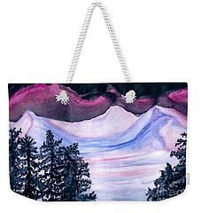 Winter Wonderland Weekender Tote Bag by Heather  Hiland