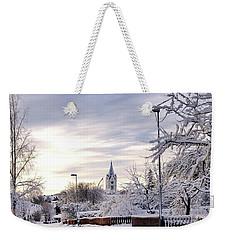 Winter Wonderland Redux Weekender Tote Bag