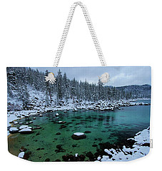 Winter Wonderland Weekender Tote Bag by Sean Sarsfield