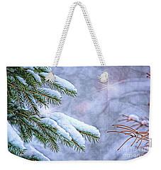Winter Wonderland Weekender Tote Bag