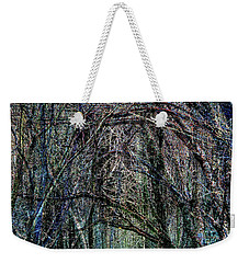 Winter Woods Weekender Tote Bag
