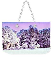 Winter Weekender Tote Bag by Zedi