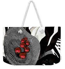Winterberries Weekender Tote Bag by Sarah Loft