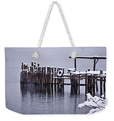 Winterized Weekender Tote Bag