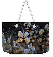 Winterized Hydrangea Weekender Tote Bag