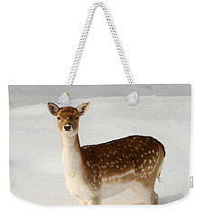 Winter's Beauty  Weekender Tote Bag