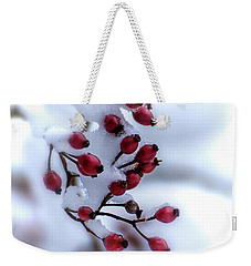 Winter's Color Weekender Tote Bag