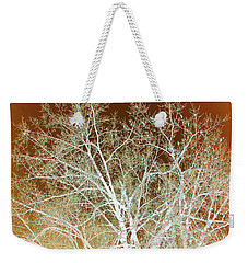 Winter's Dance Weekender Tote Bag