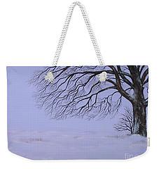 Winter's Fury Weekender Tote Bag by Billinda Brandli DeVillez
