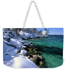 Weekender Tote Bag featuring the photograph Winter's Gold by Sean Sarsfield