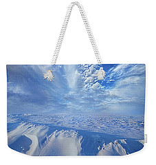 Weekender Tote Bag featuring the photograph Winter's Hue by Phil Koch