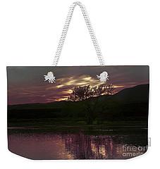 Winter's Light Weekender Tote Bag