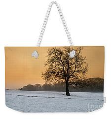 Winters Morning Weekender Tote Bag