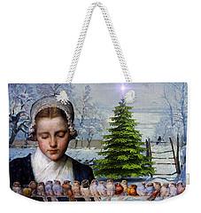 Winters Past Weekender Tote Bag