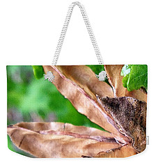 Winter's Remnants Weekender Tote Bag by Jeff Iverson