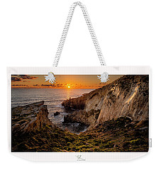 Winter's Sunset Weekender Tote Bag