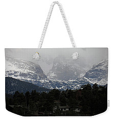 Weekender Tote Bag featuring the photograph Winters Touch by Broderick Delaney