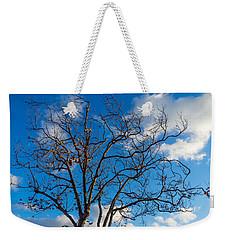 Winter's Tree Weekender Tote Bag by Derek Dean