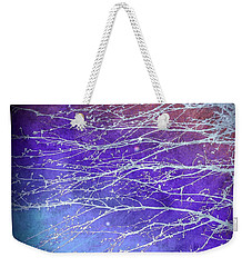Winter's Twilight Weekender Tote Bag