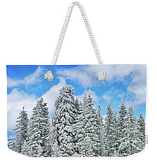 Winterscape Weekender Tote Bag
