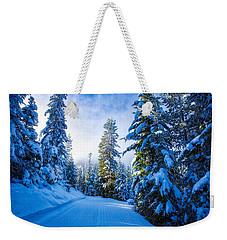Wintertime Hdr Weekender Tote Bag