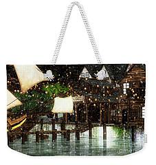 Wintery Inn Weekender Tote Bag