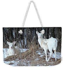 Wintery White Weekender Tote Bag