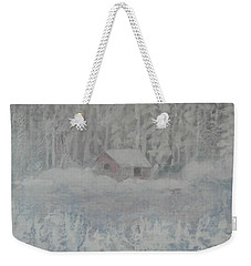 Wintery Woodland Weekender Tote Bag