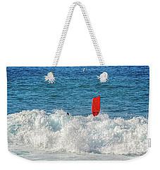 Wipe Out Weekender Tote Bag