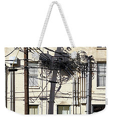 Wired Weekender Tote Bag