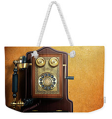 Wired To The Wall Weekender Tote Bag