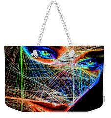 Wiretapped Period Weekender Tote Bag