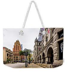 Wisconsin Avenue Weekender Tote Bag