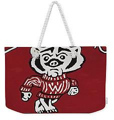 Wisconsin Badgers Weekender Tote Bag