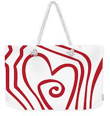 Wisconsin Drawn Weekender Tote Bag