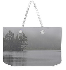Wisconsin In Grey And Green Weekender Tote Bag