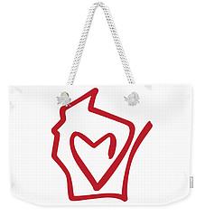 Wisconsin Love Weekender Tote Bag