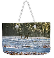 Wisconsin Whitetail Deer Weekender Tote Bag