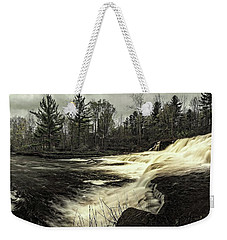 Wiscoy Creek Falls Weekender Tote Bag by Richard Engelbrecht