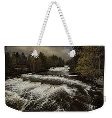 Wiscoy Falls Weekender Tote Bag by Richard Engelbrecht
