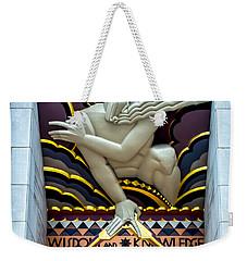 Wisdom And Knowledge Weekender Tote Bag