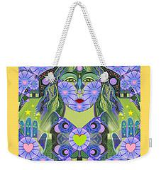 Wisdom Rising Weekender Tote Bag by Helena Tiainen