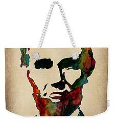 Wise Abraham Lincoln Quote Weekender Tote Bag