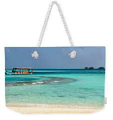Weekender Tote Bag featuring the photograph Wish I Was There by Corinne Rhode